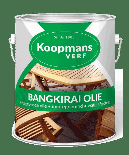 Bangkirai olie Koopmansverfshop