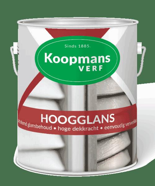 Hoogglans lakverf voor binnens- en buitenshuis Koopmansverfshop