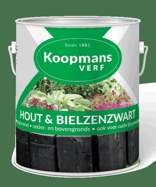 Houten- & bielzenzwart Koopmansverfshop