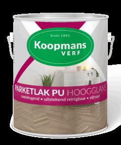 Parketlak PU voor hout binnenshuis Koopmansverfshop