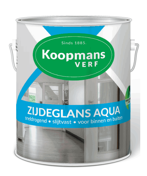 Zijdeglans Aqua biobased Koopmansverfshop