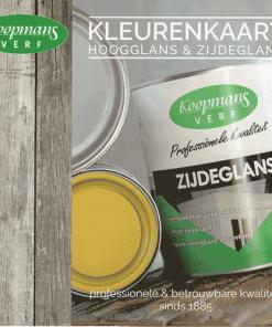 Koopmans Verf kleurenkaart Hoogglans en Zijdeglans