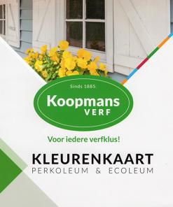 Koopmans Verf kleurenkaart Perkoleum en Ecoleum