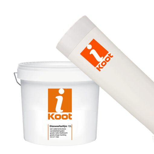 iKoot renovatievlies + Lijm behang